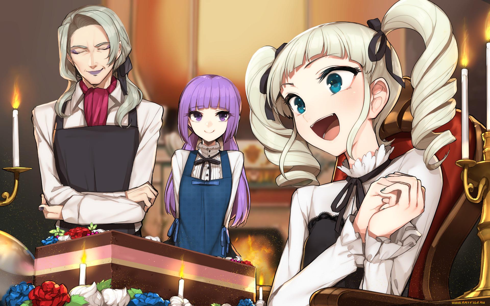 аниме, aikatsu, девушки
